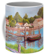 Mystic River View Coffee Mug