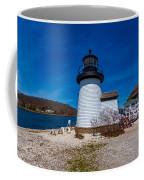 Mystic Seaport Lighthouse Coffee Mug