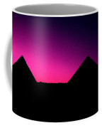 The Pyramids At Sundown Coffee Mug