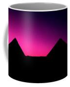 The Pyramids At Sundown Coffee Mug