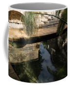 Mythical Arethusa - Wild Papyrus And Frieze Reflections Coffee Mug