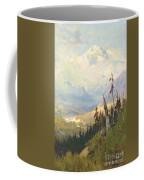 An Autumn Day, Mt Mckinley  Coffee Mug