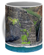 Na Pali Waterfall Coffee Mug