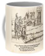 Naaman Is Cured Of Leprosy Coffee Mug