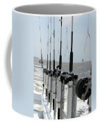 Nags Head Nc Fishing Poles Coffee Mug