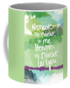 Namaste- Watercolor Card Coffee Mug