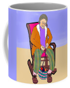 Nana Knitting Coffee Mug