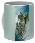 Nansen Conqueror Of The Arctic Ice Coffee Mug by James Edwin McConnell