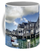 Nantucket Harbor In Summer Coffee Mug