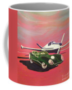 Napa Valley Lotus And Bonanza Beechcraft Coffee Mug