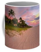 Naples Beach At Sunset, Florida Coffee Mug