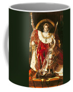 Napoleon I On The Imperial Throne Coffee Mug