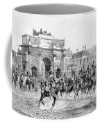 Napoleon Reviewing His Troops Coffee Mug