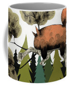 Napping Squirrel Coffee Mug