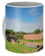 Narrow Boat In Lock Coffee Mug