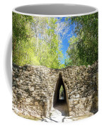Narrow Passage In Becan, Mexico Coffee Mug