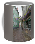 Narrow Street In Freiburg Coffee Mug