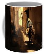 Narrow Streets Fes Male Donkey  Coffee Mug
