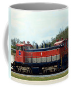 Nasa Space Shuttle Railroad Coffee Mug