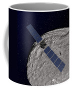 Nasas Dawn Spacecraft Orbiting Coffee Mug