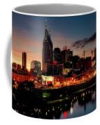Nashville At Sunset Coffee Mug