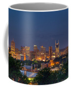Nashville By Night 2 Coffee Mug