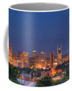Nashville By Night Coffee Mug