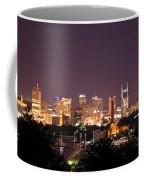 Nashville Night Scene Coffee Mug
