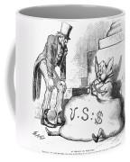Nast: Inflation, 1873 Coffee Mug