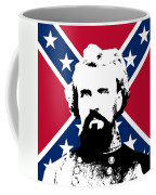 Nathan Bedford Forrest And The Rebel Flag Coffee Mug by War Is Hell Store