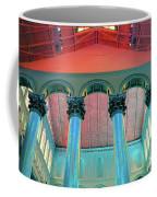 National Columns Blue Coffee Mug