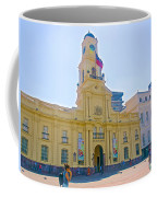 National History Museum On Plaza De Armas In Santiago-chile Coffee Mug