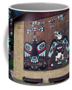 Native Alaskan Mural Coffee Mug