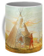 Native American Indian Sweat Lodge Coffee Mug by Science Source