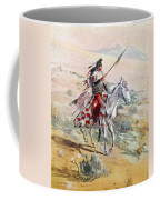 Native American Warrior Coffee Mug