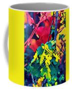 Native Plants Become Art.  Coffee Mug