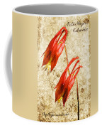 Native Virginia Columbine Coffee Mug