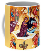 Nativity At Shepherd Field Coffee Mug