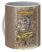 Nativity In An Initial P Coffee Mug