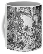 Nativity Coffee Mug by Rembrandt