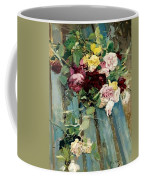 Natura Morta Con Rose Giovanni Boldini Coffee Mug