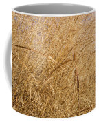 Natural Abstracts - Elaborate Shapes And Patterns In The Golden Grass Coffee Mug