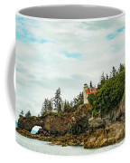 Natural Arch At Lighthouse Point Coffee Mug