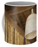 Natural Bamboo Interior Design Lampshade Detail Coffee Mug