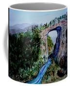 Natural Bridge In Virginia Coffee Mug