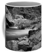 Natural Contrast Black And White Coffee Mug