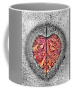 Natural Heart Coffee Mug
