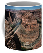 Natural Horseshoe Bend Arizona  Coffee Mug