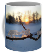 Natural Ice Animals In Winter Coffee Mug