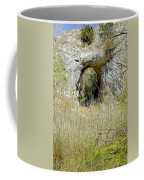 Natural Limestone Arch At Dove Valley Coffee Mug